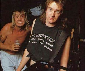 Adrian Smith, guitar, and iron maiden image