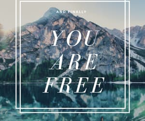 free, freedom, and happiness image