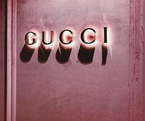 brands, gucci, and pink image