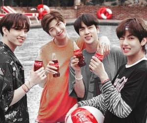 coca-cola, yoongi, and taetae image