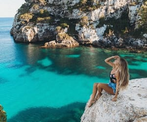 luxe, piscine, and grece image