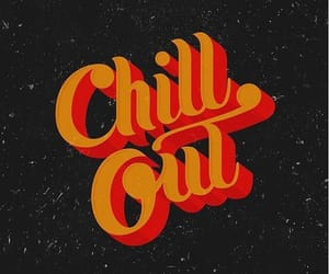 aesthetic, chill out, and orange image