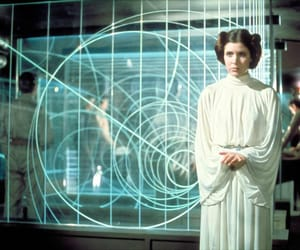 badass, carrie fisher, and pretty image
