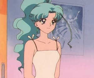 anime, sailor moon, and 90s image
