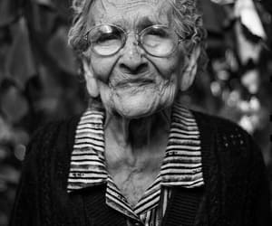 beautiful, elderly, and lady image