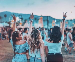 artsy, cool, and festival image
