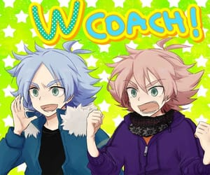 inazuma eleven, shawn frost, and aiden frost image