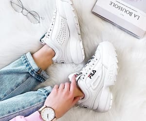 shoes, 😍, and fils image