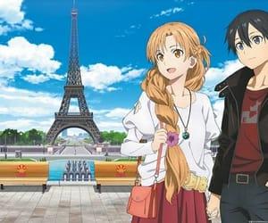 anime and manga, kirito, and anime image