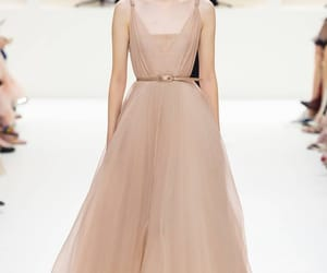 catwalk, Christian Dior, and Couture image