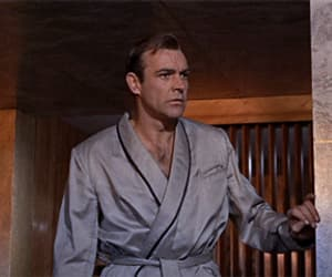 gif, Sean Connery, and vintage image