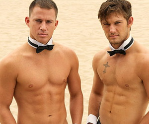 abs, Hot, and alex pettyfer image