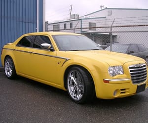 car, yellow, and paint job image