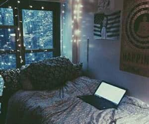 aesthetic, bedroom, and Illuminating image