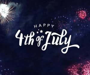 4th of july, fireworks, and july image