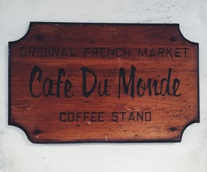 cafe, cafe du monde, and coffee image