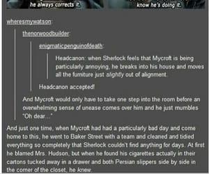 bbc, hilarious, and mycroft image