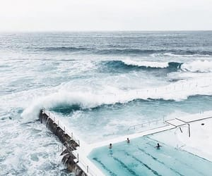 pool, sea, and water image