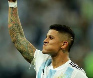 argentina, argentina nt, and marcos rojo image