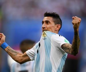 argentina and di maria image