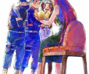 anime, naruto, and team minato image