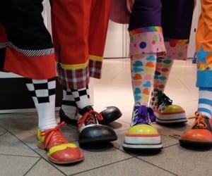 circus, clown, and kidcore image