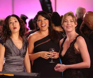 grey's anatomy, meredith grey, and callie torres image