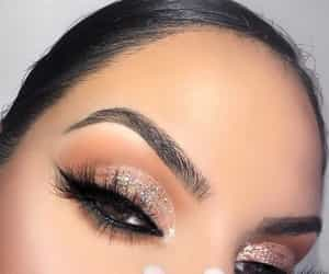 beautiful, eye liner, and eyes image