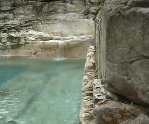 gif, nature, and pool image