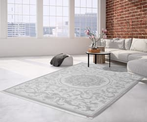 grey, pierre cardin, and designer rugs image