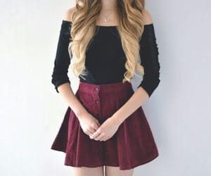 hair, asthetic, and outfit image