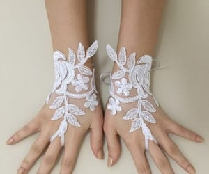 etsy, gants, and 3d flowers image