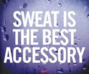 fitness, motivation, and sweat image