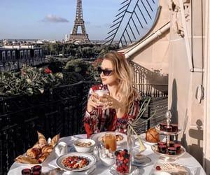berries, breakfast, and paris image