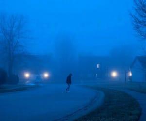 alone, blue, and grunge image