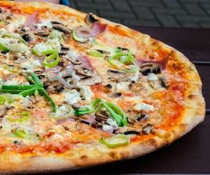 foods, pizza, and italianfood image
