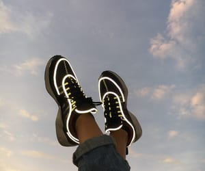 basket, nike, and sneakers image
