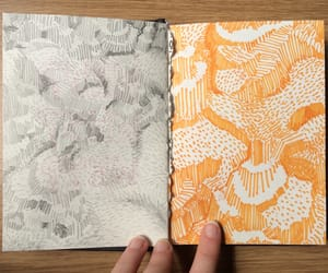 abstract, journal, and journaling image