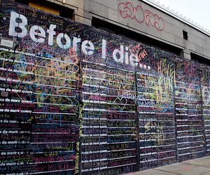 before, wall, and die image