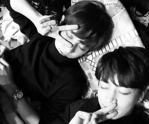 chanyeol, exo, and Minho image