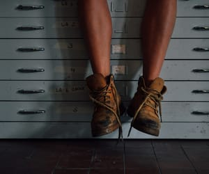 boots, walk, and legs image