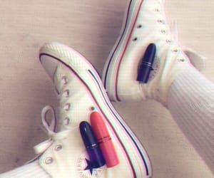 beauty, converse, and cosmetics image