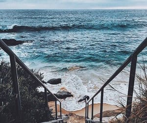 beach, summer, and pinterest image