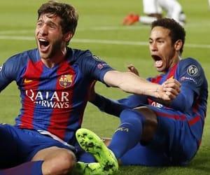 Barca, football, and fc barcelona image
