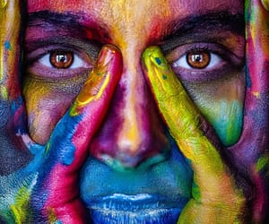 eyes and colors image