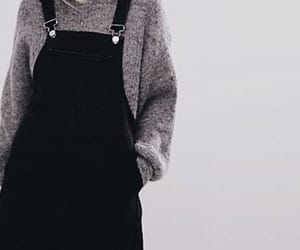 black, fashion, and hipster style image