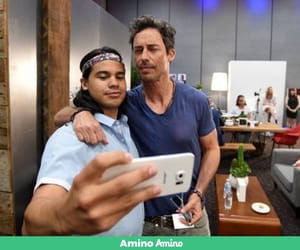 actors, the flash, and selfie image