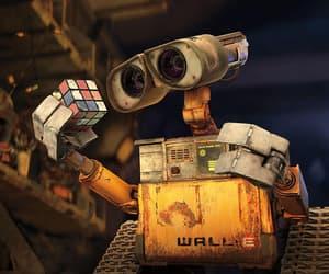 wall-e, disney, and robot image