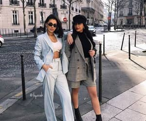 blue, fashion, and paris image