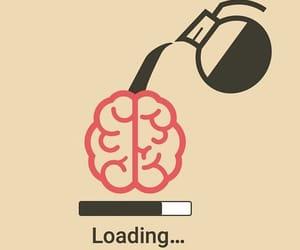coffee, brain, and loading image